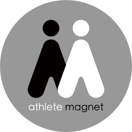 ロゴ Athlete Magnet